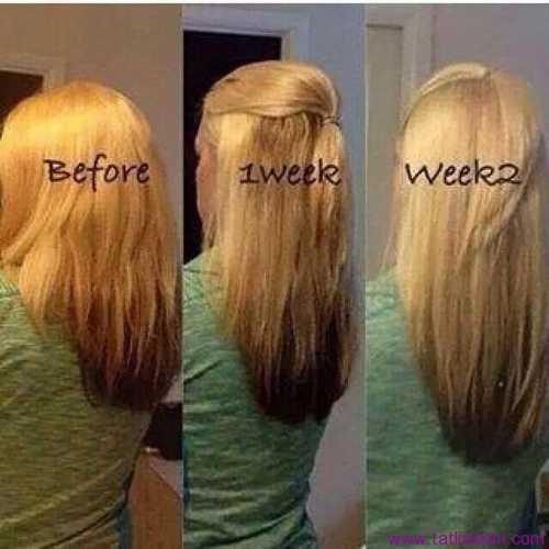 saç uzama hızı