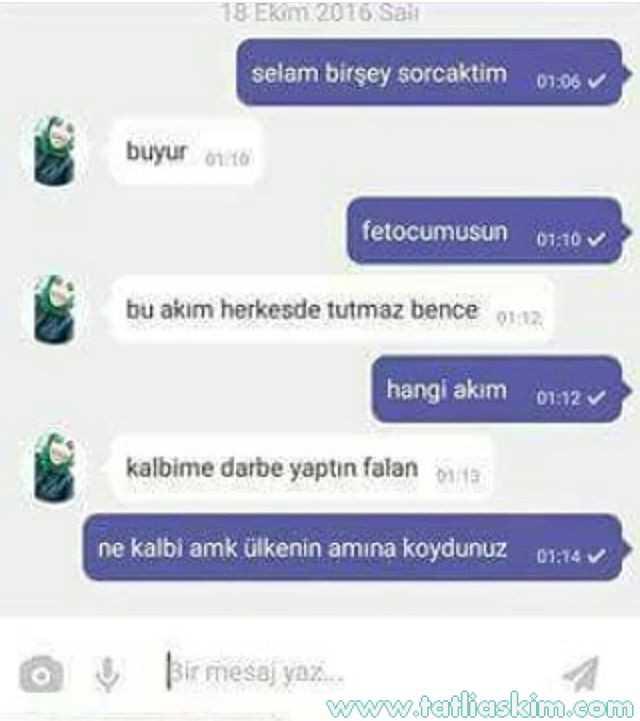 whatsapp eski sevgili konuşmaları