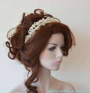 Düğün - Nikah İçin Saç Aksesuarları 11