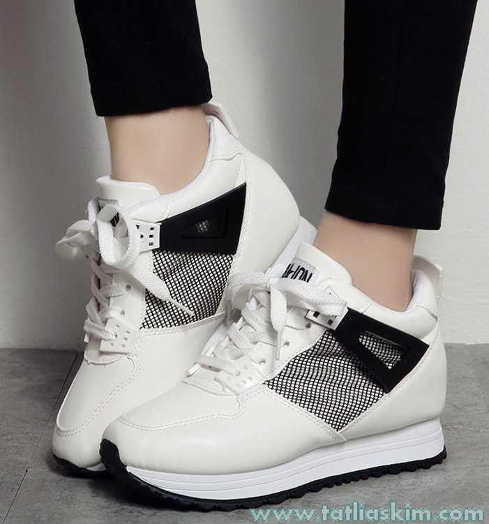 gizli yüksek topuk ayakkabı