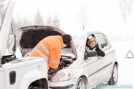 soğuk havalarda araba nasıl çalıştırılır